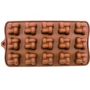 قالب شکلات سیلیکونی حصیری