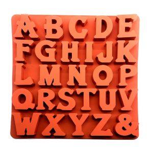 قالب سیلیکونی حروف لاتین رومی