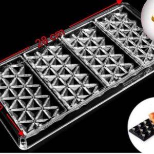 قالب پلی کربنات تبلتی مثلثی