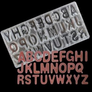 قالب پلی کربنات حروف