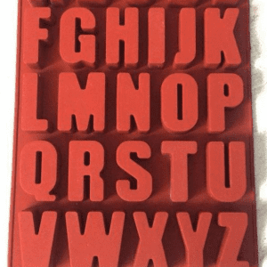 قالب سیلیکونی حروف