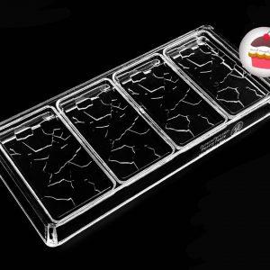 قالب پلی کربنات تبلتی طرح شیشه