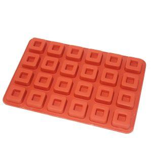 قالب سیلیکونی ساوارین مربع
