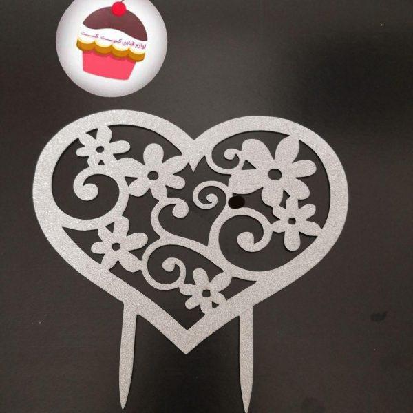 تاپر قلب و گل