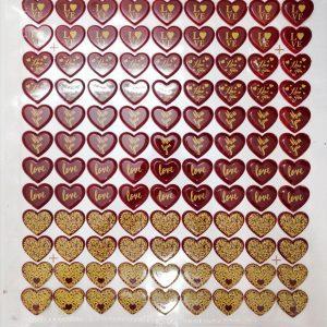 طلق شکلات قلب