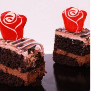 طلق شکلات گل رز غنچه