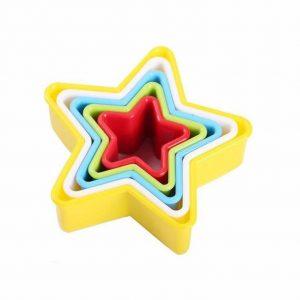 کاتر رنگی طرح ستاره