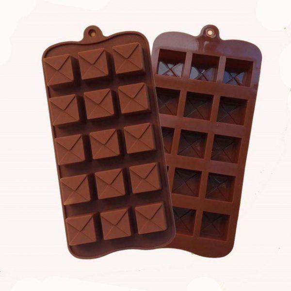 قالب شکلات خارجی مربع