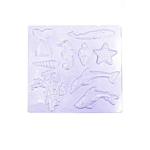 طلق شکلات آبزیان دریایی