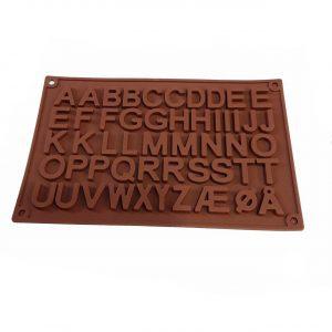 قالب سیلیکونی حروف باریک لاتین
